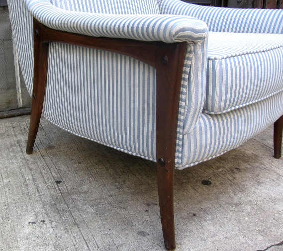 1950's Upholstered Club Chair