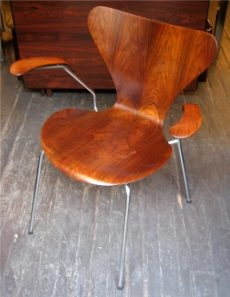 Arne Jacobsen Early Rosewood Armchair