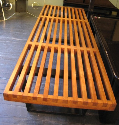 George Nelson Five Foot Bench