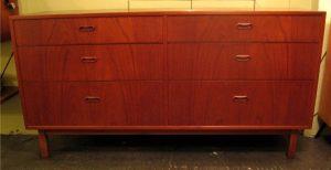 1960s Danish Teak Double Dresser