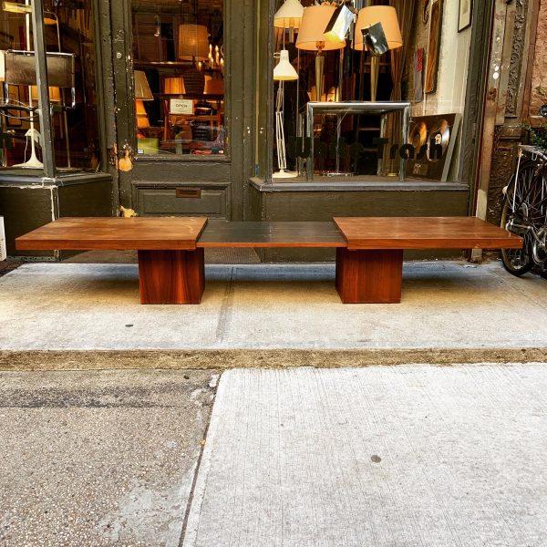 John Keal Expanding Coffee Table by Brown Saltman