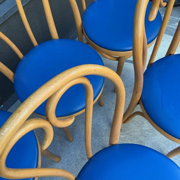 Bentwood Thonet Style Cafe Chairs from Romania