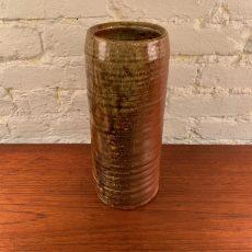Tall Stoneware Studio Vase