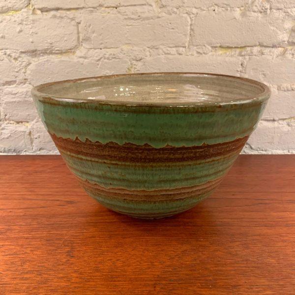 Large Hand Spun Bowl by Lee Rosen for Design Technics