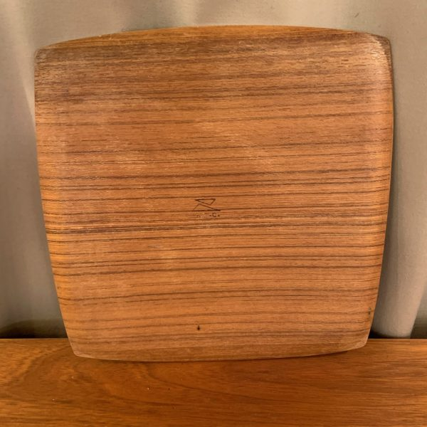 Bent Teak Plywood Square Trays