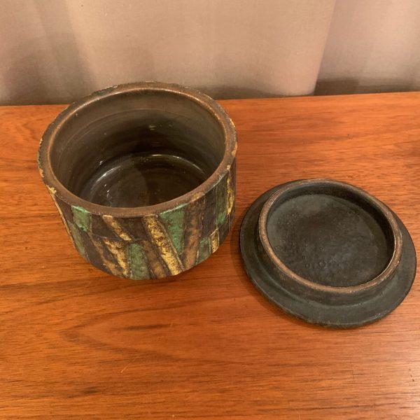 Lidded Jar by Aldo Londi for Bitossi