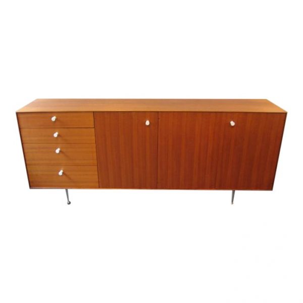 George Nelson Teak Thin Edge Credenza by Herman Miller