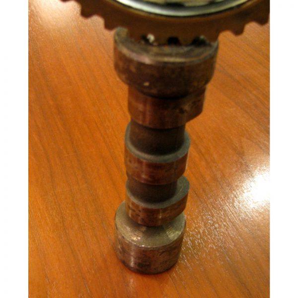 Industrial Feliciano Bejar Steel, Brass and Glass Magiscope Sculpture