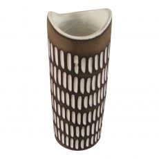 Vase With Glazed Incisions by Ingrid Atterberg for Upsala Ekeby