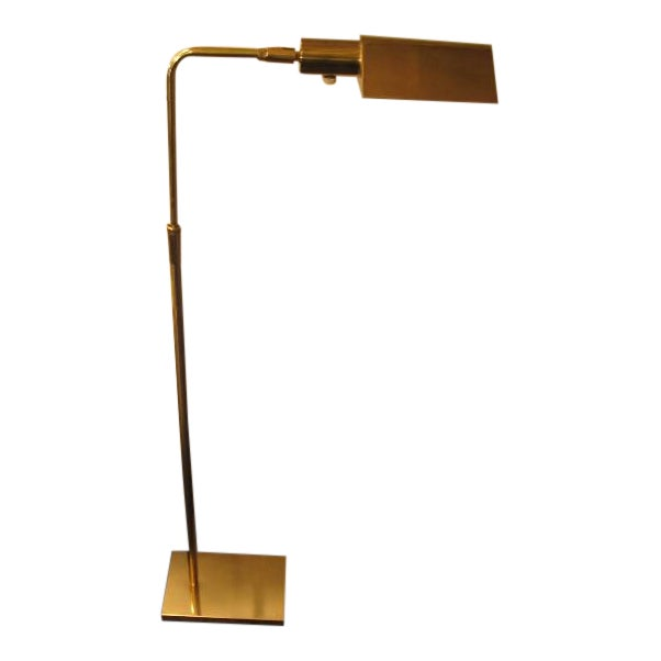 Koch and Lowy Brass Tent Shade Pharmacy Lamp
