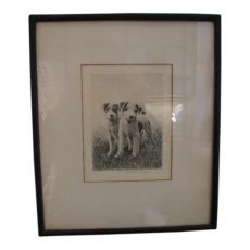 Morgan Dennis Signed Etching - What Have You