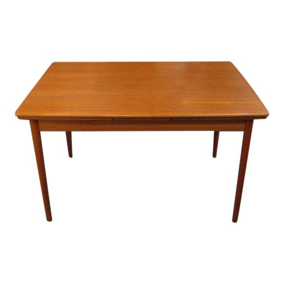 Teak Refractory Extension Table From Denmark