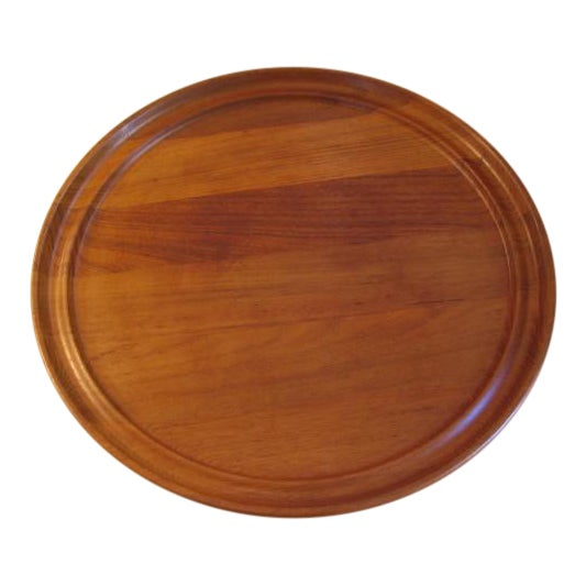 Teak Serving Tray by Henning Koppel