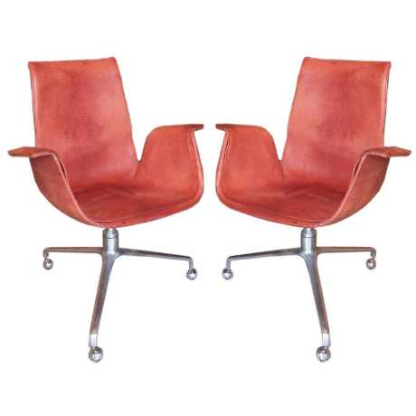 Pair of Fabricius and Kastholm Bird Chairs