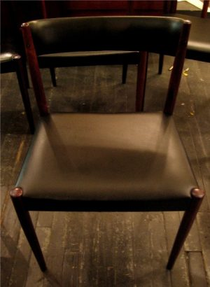 Set of Six Brazilian Rosewood Dining Chairs