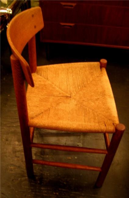 Set of Three Borge Mogensen J39 Chairs