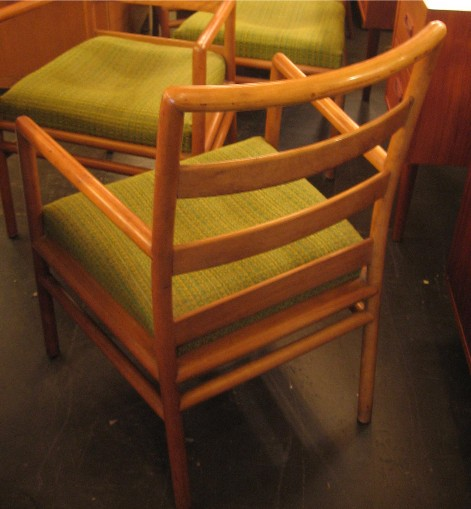 Set of Four Dining Chairs by Gibbings for Widdicomb