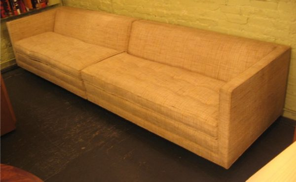 Harvey Probber Two Piece Sectional Sofa
