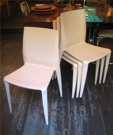 Set of Four Mario Bellini Chairs for Heller