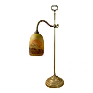 French Deco Table Lamp by Degue