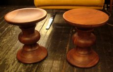 Pair of Eames Time Life Stools