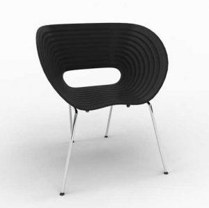 Ron Arad Tom Vac Chairs in Black
