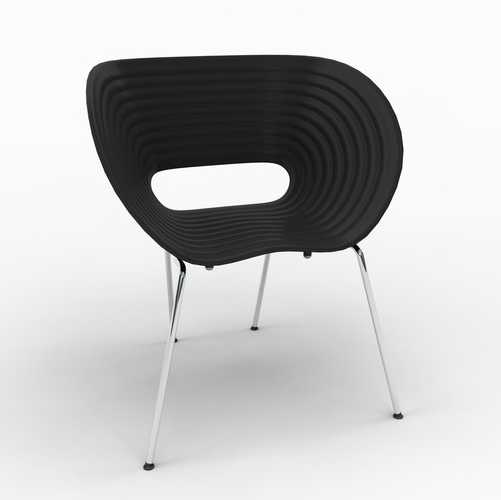 Ron Arad Tom Vac Chairs in Black