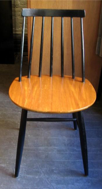 Set of Five Ilmari Tapiovaara Fanett Chairs
