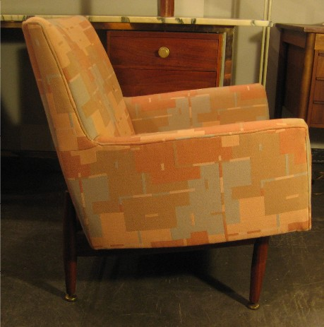 Pair of Jens Risom Club Chairs