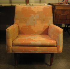 Pair of Jens Risom Club Chairs