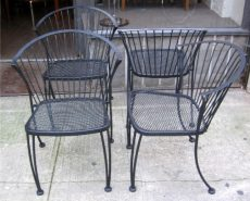 Set of Four Russell Woodard Pinecrest Chairs