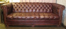 Vintage Chesterfield Sofa by Leathercraft