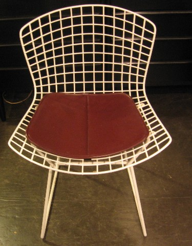 Pair of Bertoia Wire Side Chairs by Knoll