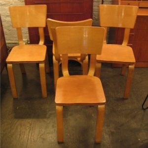 Thonet Bent Plywood Chairs