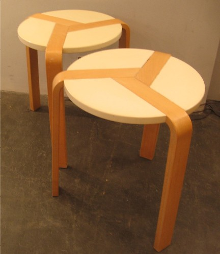 Unusual Three Legged Stools