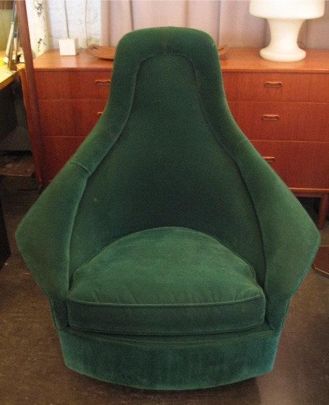 High Back Swivel and Rocking Club Chair