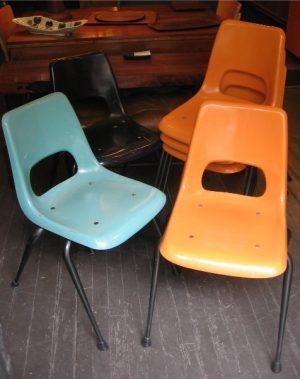 Set Of Brunswick Fiberglass Chairs
