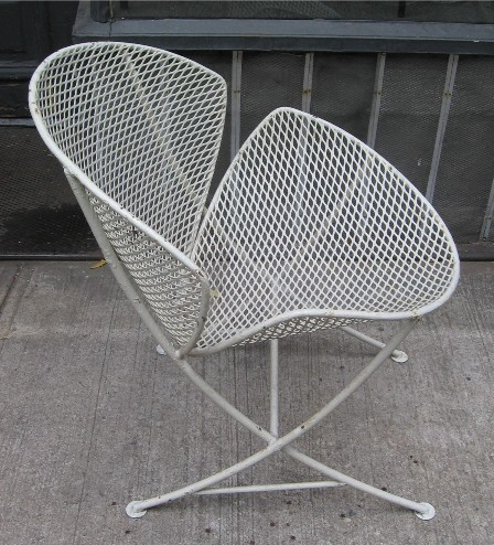 Salterini Orange Slice Chairs and Bench