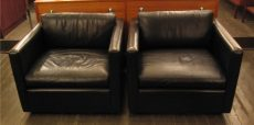 Pair of Pfister Lounge Chairs by Knoll