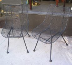 Sculptura Side Chairs by Russell Woodard