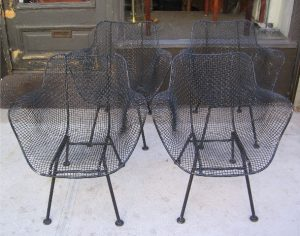 Sculptura Arm Chairs by Russell Woodard