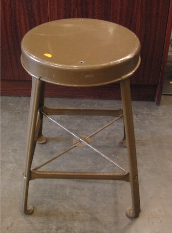 Metal Stool from 1941
