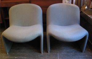 Pair of 1970s Alky Chairs by Giancarlo Piretti