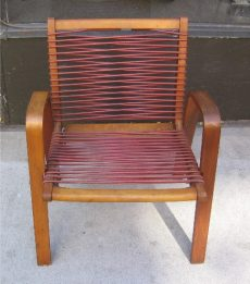 Robert Kayton Kingston Rope Chair with Bentwood Legs