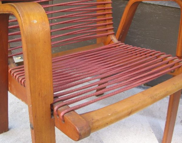 Robert Kayton Kingston Rope Chair with Bentwood Legs