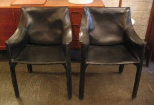 Mario Bellini CAB Armchairs by Cassina