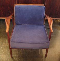 Walnut Club Chair from Spain
