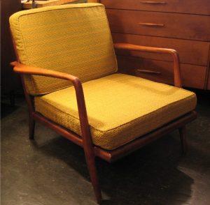 Walnut Club Chair