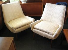 Pair of Paul McCobb Slipper Chairs