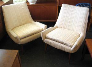 Pair of Paul McCobb Slipper Chairs